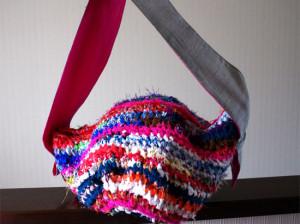 師匠のさき編みバック(ご注文品)
