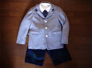 入学式のお洋服