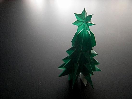 小さなクリスマスツリー