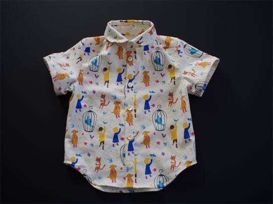 子供シャツ