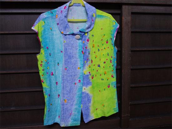 師匠の夏のお洋服