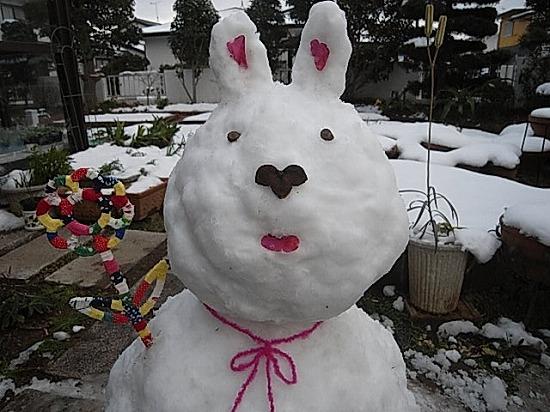 レイポン家の雪だるま