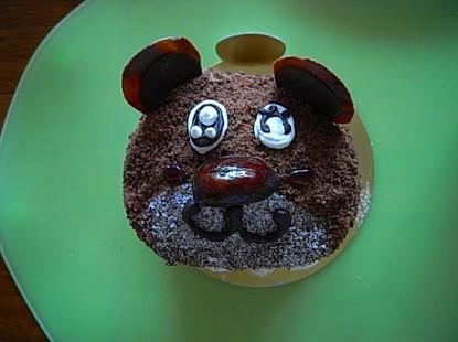 クマのケーキ