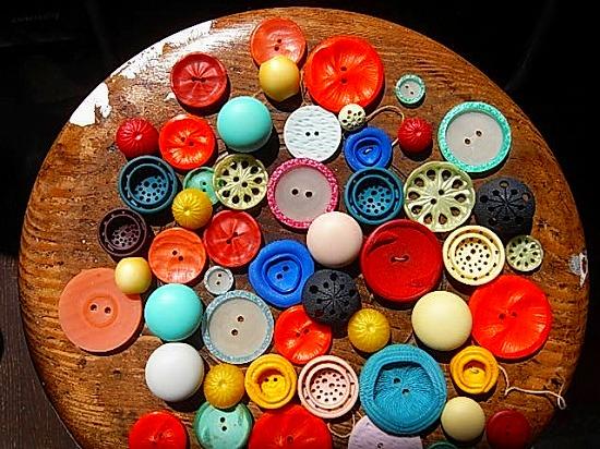 ボタンがいっぱい
