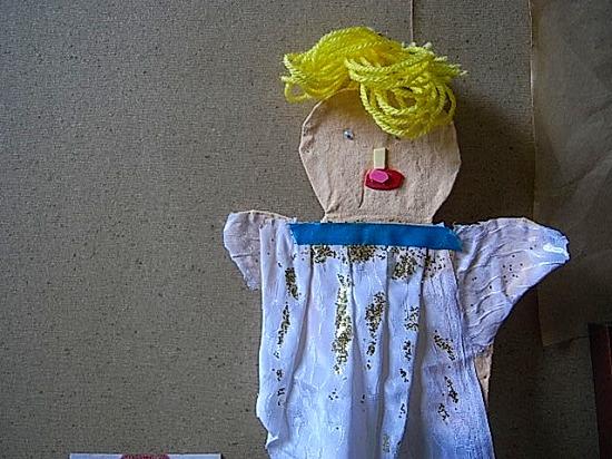 お孫さんからのお人形