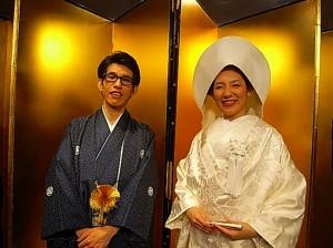 永田君としょうこちゃんの結婚式