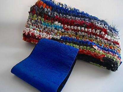 師匠のさき編みバック