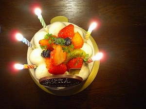 HAPPY BIRTHDAY~♪