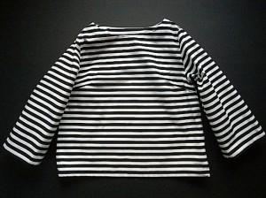 ボーダーシャツ(私物)